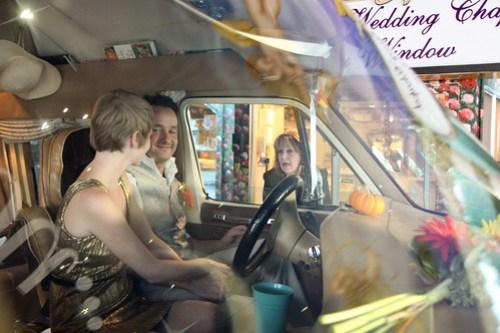 Lisa & Alex's drive-thru Vegas wedding!