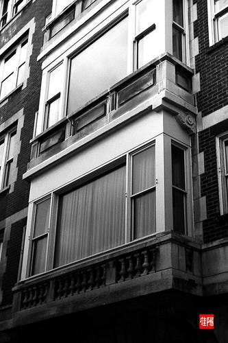 LeicaIIIf CHI TMax100 ChicagoWindows01B