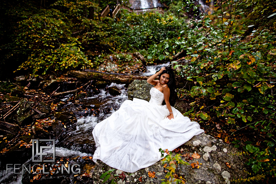 Natural Beauty | Khammy's Bridal Portrait Session | Anna Ruby Falls | Helen, GA Wedding Photographer