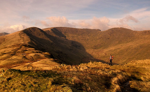 Looking to the Fairfield Horseshoe from Heron Pike