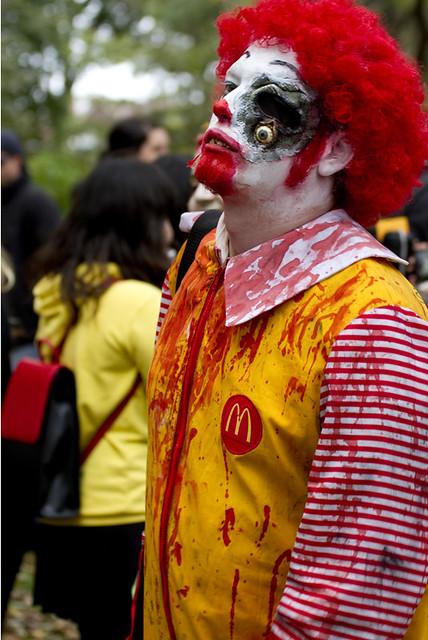 Ronald McDonald goes bad  Flickr  Photo Sharing
