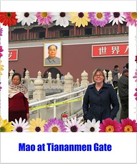 Mao at Tiananmen Gate
