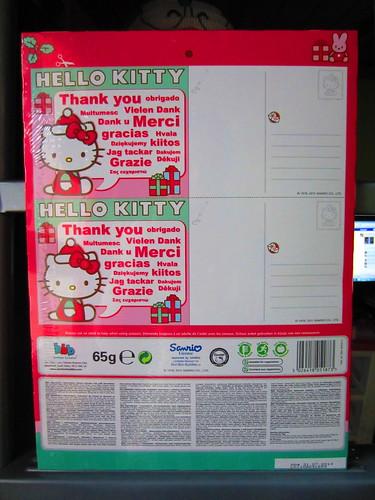Nov 25 Hello Kitty Advent Calendar