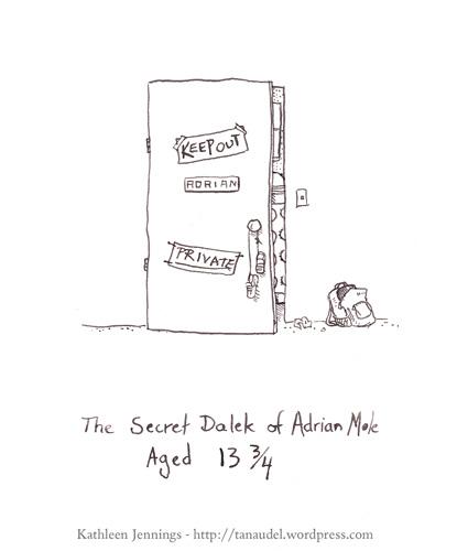 The Secret Dalek of Adrian Mole