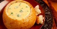 Cheddar Broccoli Soup in Sourdough Bread Bowl | Flickr ...