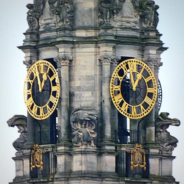 Cardiff City Hall Clock