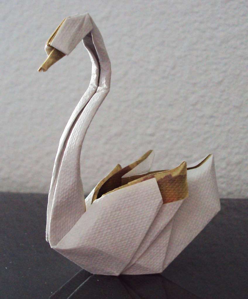 Swan by Hoang Tien Quyet, folded by me