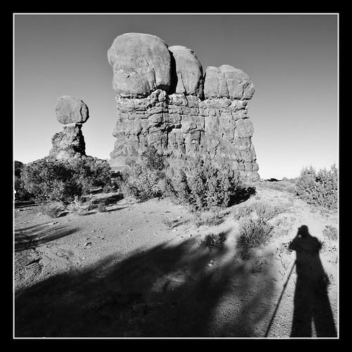 Balance Rock Selfie