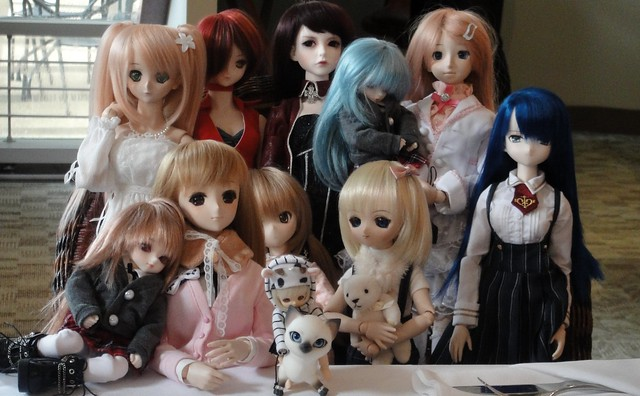 Doll mini-meet in Vancouver
