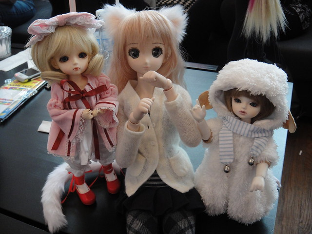 Doll Meet at Café Princess