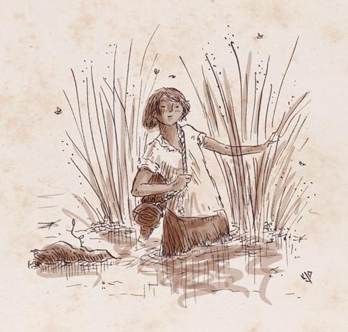 Illustration Friday: Swamp