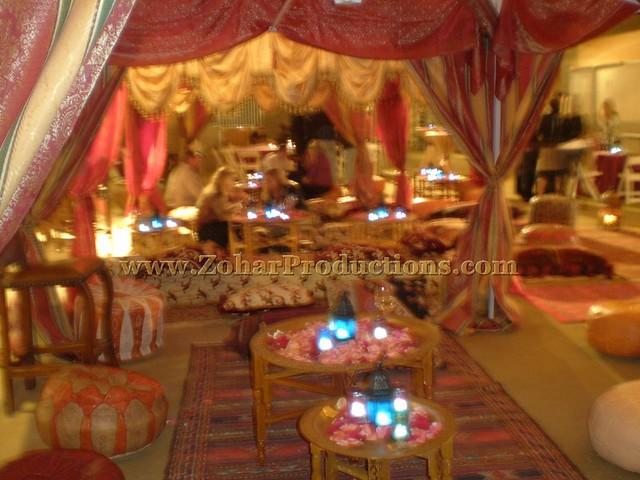 Moroccan Theme Lounge Area