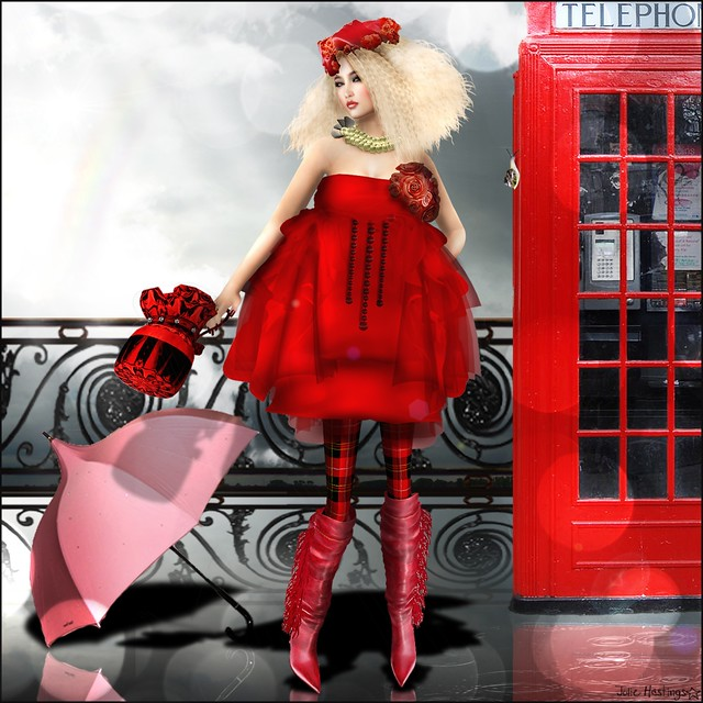 A blond in a red dress can do without introductions – but not without a bodyguard. ~ Rona Jaffe