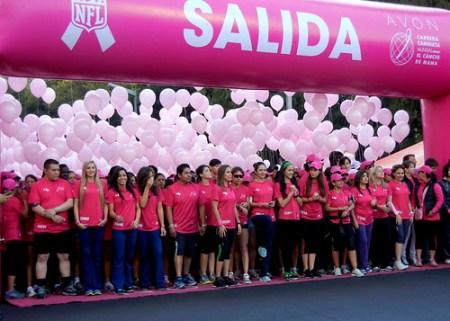 Carrera Caminata Avon contra el cáncer de mama en la Ciudad de México