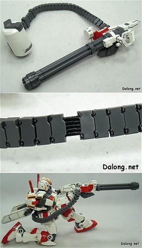 MG RX-78-5 Gatling Gun
