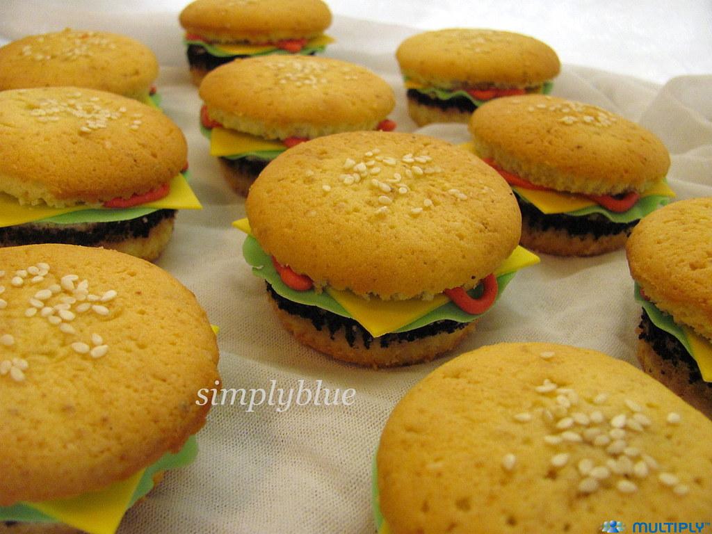 мъфини - хамбургери
