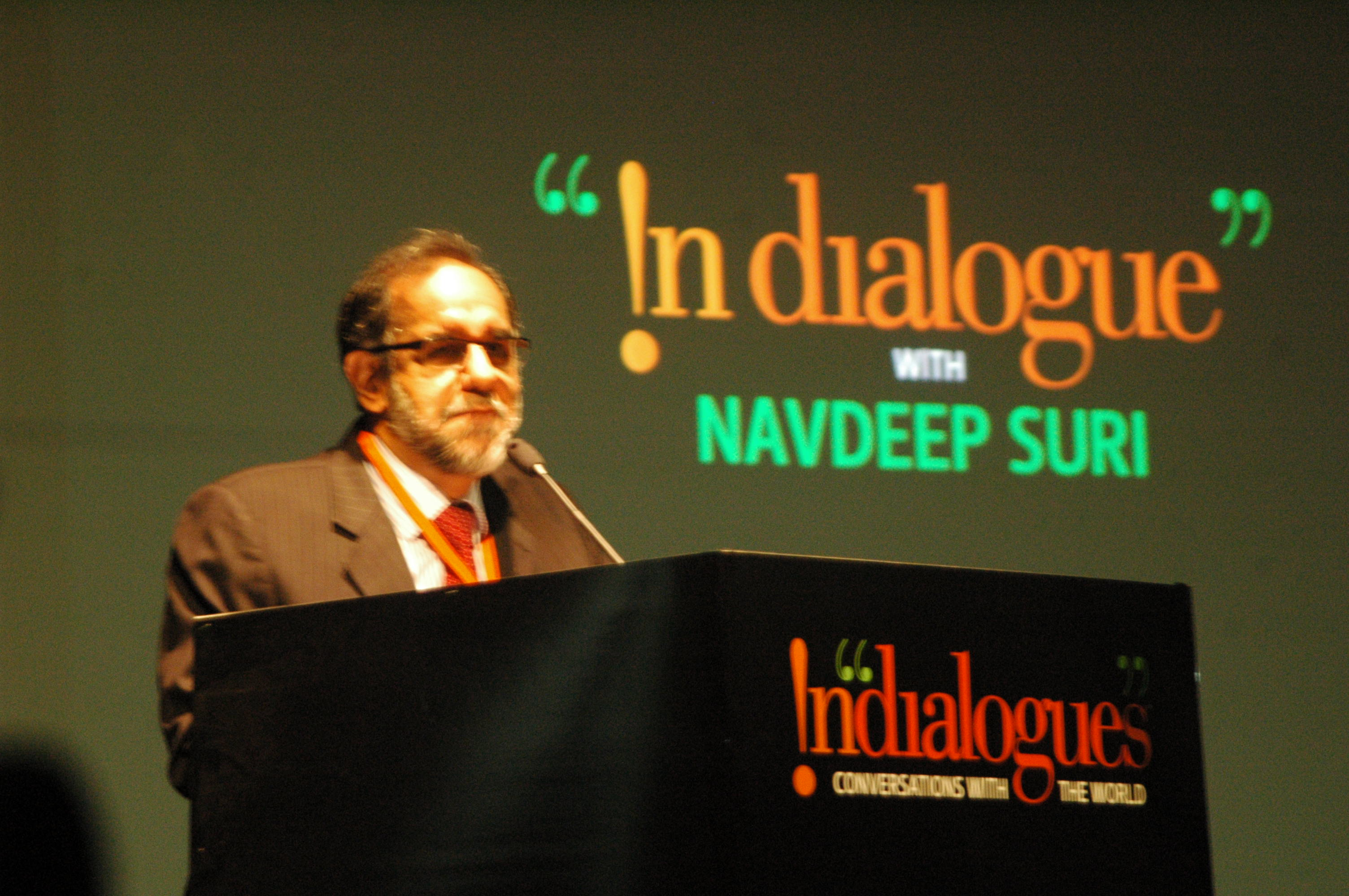Navdeep Suri, diplomat and head public diplomacy division, MEA