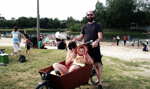 The Family Bike Goes to the Beach