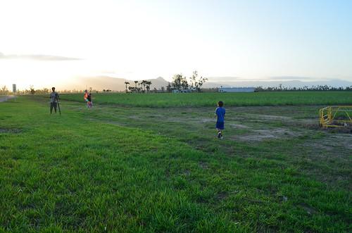 kite fun being filmed