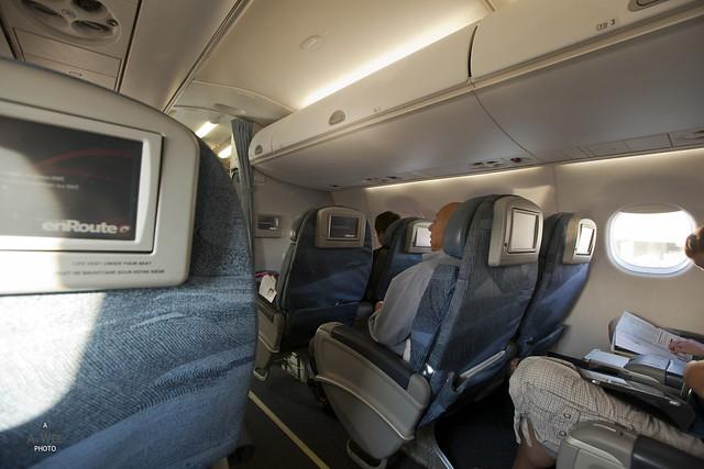 Executive Class Cabin on Embraer E90