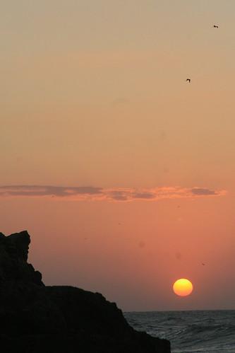 Sunset by melaganodeojo