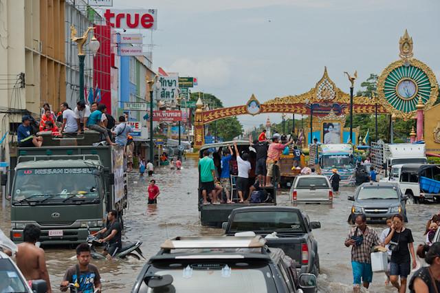 Flood in Ayutthaya 2011 #6
