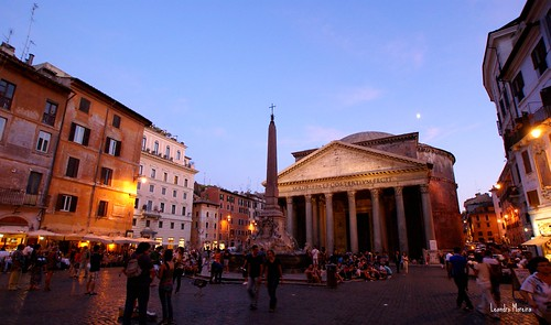 Panteão, Santa Maria della Rotonda, Santa Maria ad Martyres...  Escolha o seu nome!