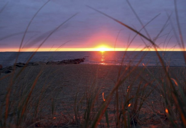 sunset at south cape beach mashpee cape cod