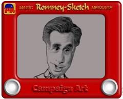 Romney-Sketch Cartoon