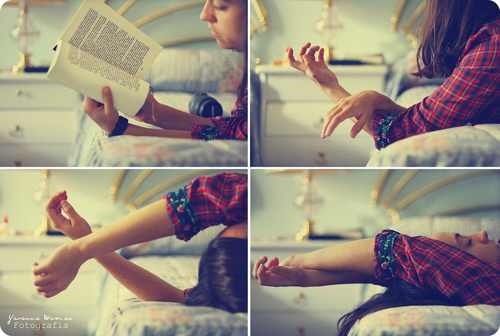 Reading before sleeping