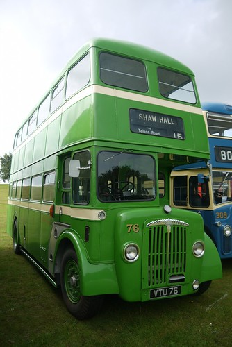 Daimler CVG6, VTU 76, Stalybridge, Hyde, Mossley and Dukinfield Transport and Electricity Board
