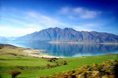 New Zealand - Lake Hawea