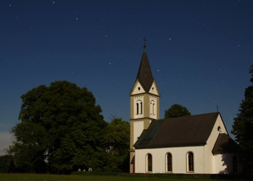 Church and Stars