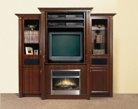 Entertainment Unit with Electric Fireplace | Flickr ...