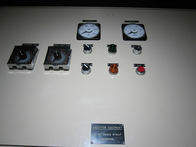 Electric Chair Control Panel  Flickr  Photo Sharing