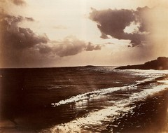 Large Wave, Mediterranean Sea, 1857, by Gustave Le Gray