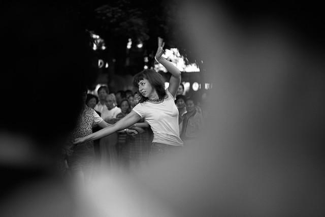 Lost In Dance - Nanjing Lu, Shanghai.