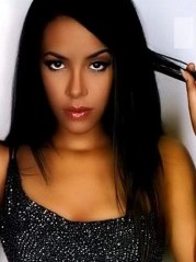 aaliyah long hairstyle remy human