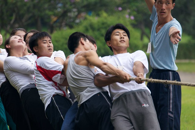 North Korean Tug of War