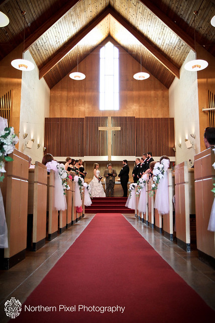 Knox United Church Wedding - Prince George, BC
