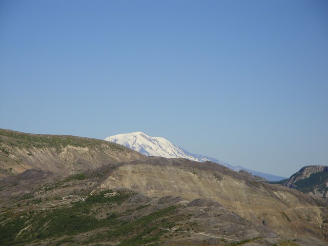Mt St Helens over the Ridge