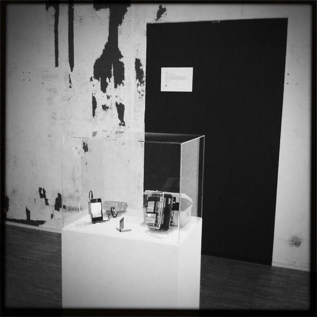 Final iGeigie exhibition installation