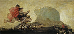 Fantastic Vision (Asmodeus), from 'The Black Paintings,' 1821-23, by Francisco de Goya