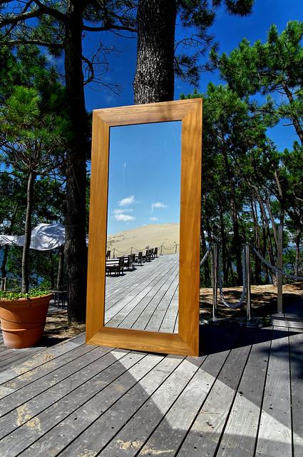 La dune du Pyla dans le miroir de La Corniche