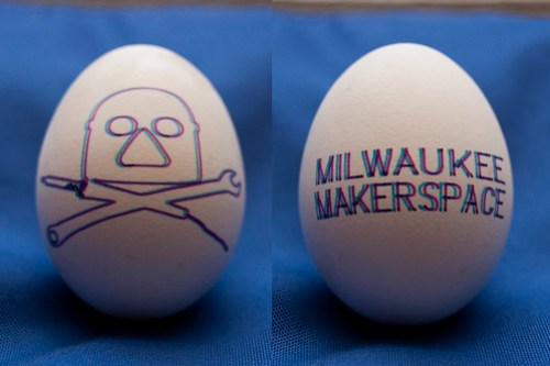 Milwaukee Makerspace 3D Egg