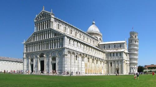 Pisa (Toscana) – La piazza del Duomo