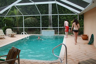 . . . . . . our pool . . . .