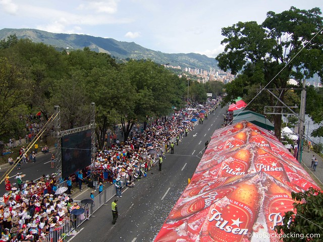 Flower Parade route