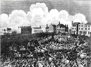 Peterloo scene, 1819