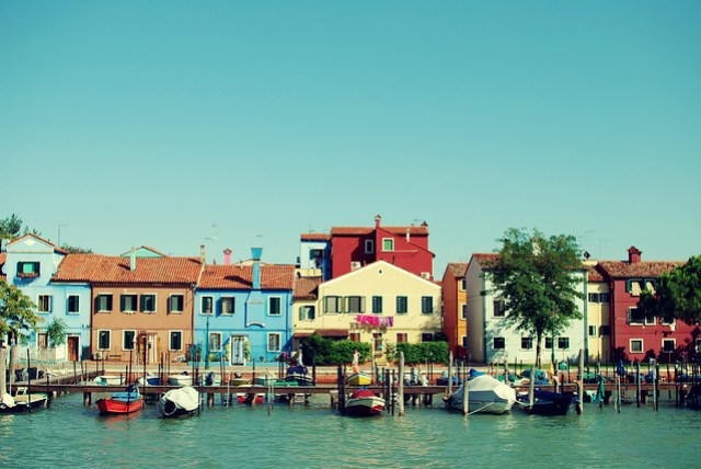 I want to live in Burano